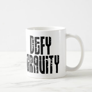 Defy Gravity - Snowboard Mug