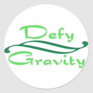 Defy Gravity Stickers