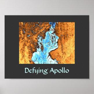 Defying Apollo Poster Print