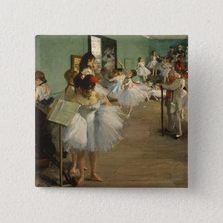 Degas Art Dance Class Painting Ballet Button