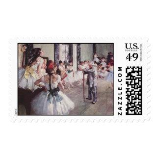 Degas Art Postage