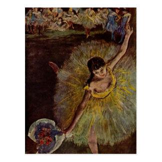 Degas Art Postcard