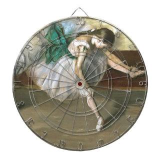 degas ballerina art dart board