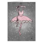 Degas' Ballerina Card