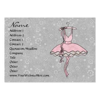 Degas' Ballerina Large Business Card