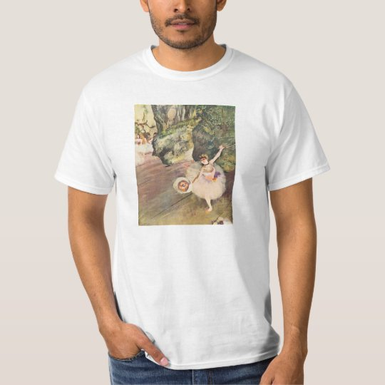Degas Ballerina with a Bouquet of Flowers T-shirt