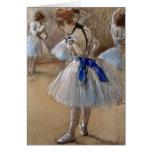 Degas Ballet Ballerina Vintage Card