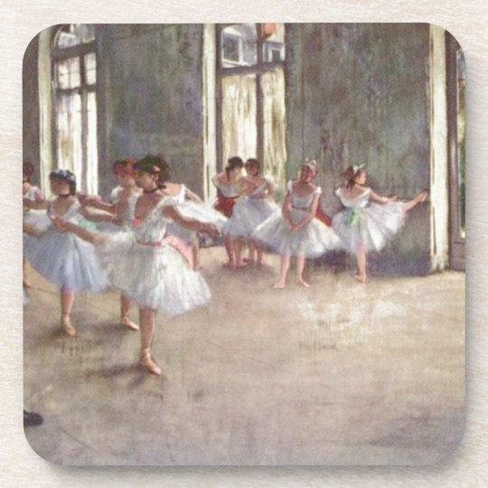 Degas Ballet Dancers Coaster