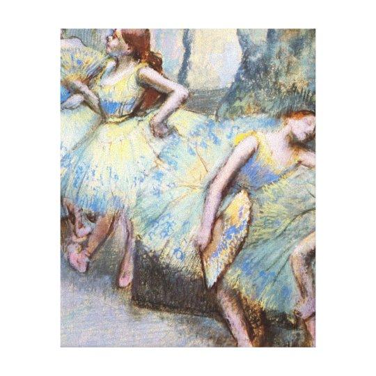 Degas Ballet Dancers Impressionist Canvas Print