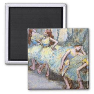 Degas Ballet Dancers Impressionist Magnet