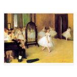 Degas Ballet Dancers Postcard