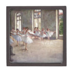 Degas Ballet Dancers Premium Keepsake Box