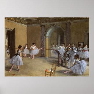 Degas, Ballet Hall of the Opera Poster