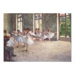 Degas' Ballet Rehearsal Invitation