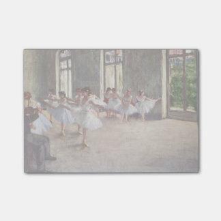 Degas' Ballet Rehearsal Post-it® Notes
