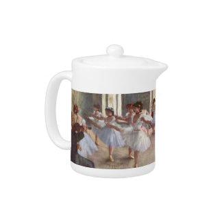 Degas' Ballet Rehearsal