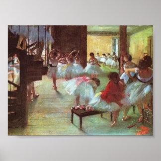Degas, Ballet School Posters