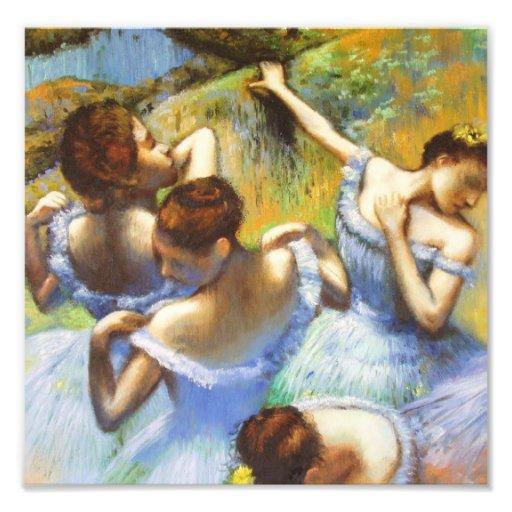Degas Blue Dancers Photo Print