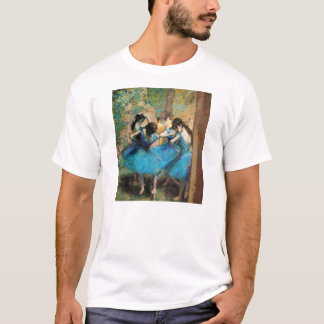 Degas Blue Dancers T-shirt