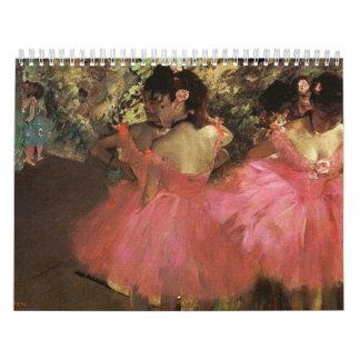 Degas  Calendar