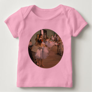 33af682d2461 Ballet Paintings Baby Tops   T-Shirts