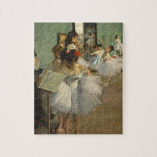 Degas Dance Class Ballet Dancers Jigsaw Puzzle