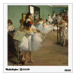 Degas Dance Class Ballet Dancers Wall Sticker