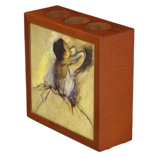 Degas Dancer in Yellow Fine Art Pencil Holder