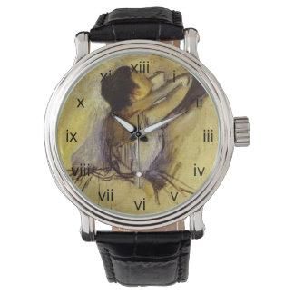 Degas Dancer in Yellow Wrist Watch