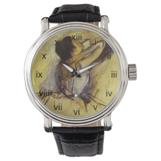 Degas Dancer in Yellow Wristwatches