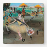 Degas 'Dancer with a Bouquet Bowing' Wall Clock