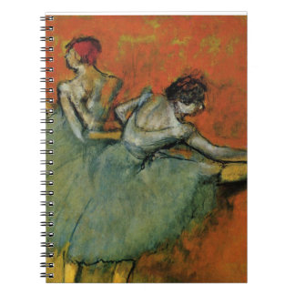 Degas, Dancers at the Barre Note Books