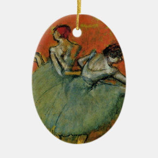 Degas, Dancers at the Barre Ornament