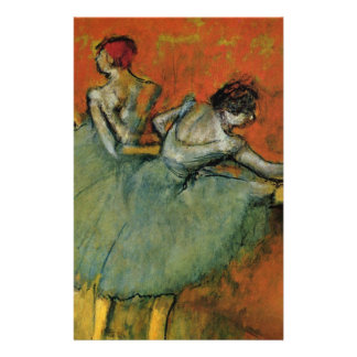 Degas, Dancers at the Barre Stationery