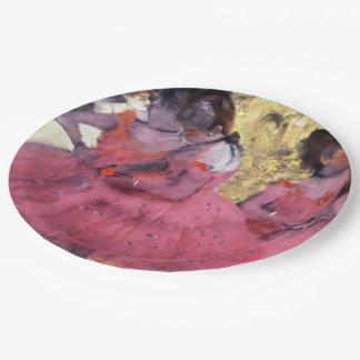 Degas Dancers in Pink Between Scenes Paper Plate