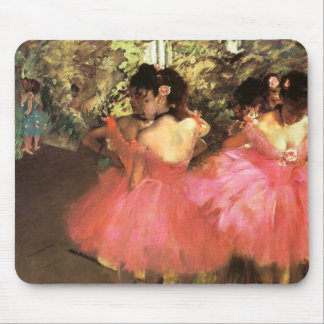 Degas Dancers in Pink Mouse Pad
