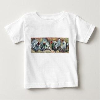 Degas - Dancers Tying Shoes Baby T-Shirt