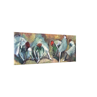 Degas - Dancers Tying Shoes Canvas Print