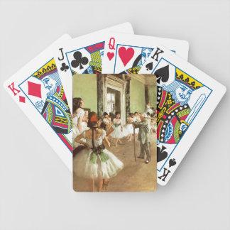Degas Dancing Class playing cards