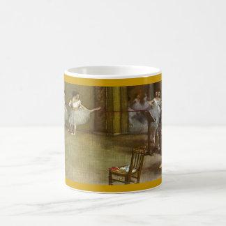 Degas dansers, ballerinas classic white coffee mug