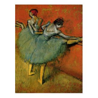 Degas, Edgar Germain Hilaire T?nzerinnen an der St Postcards