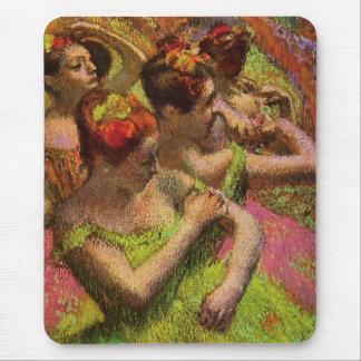Degas Green Ballerinas Mouse Pad