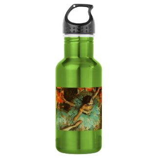 Degas Green Dancer Ballet Impressionist 18oz Water Bottle