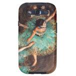 Degas Green Dancer Galaxy S3 Cases