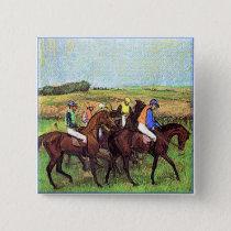 Degas' Horses Button