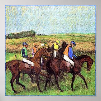 Degas Horses Posters