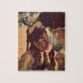 Degas - In the Tuileries - Woman with Parasol Jigsaw Puzzle