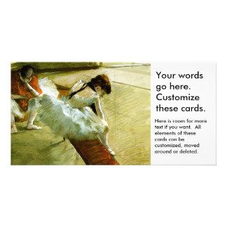 Degas painting Gallery Player ballet ballerina art Card