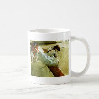 Degas painting Gallery Player ballet ballerina art Classic White Coffee Mug