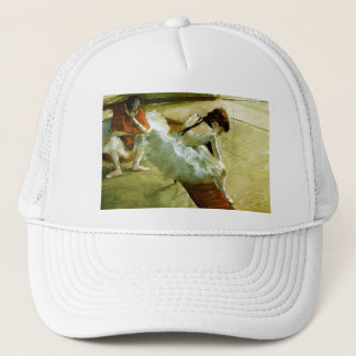Degas painting Gallery Player ballet ballerina art Trucker Hat